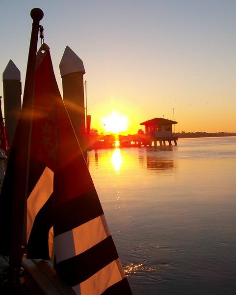 Sunrise at St Augustine, Fla.