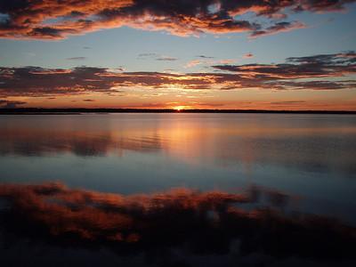 Sunset on Missisquoi Bay, Vermont