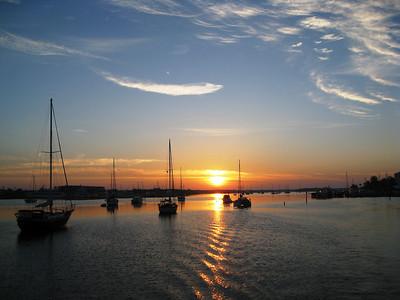 Sunrise in Fort Myers, Fla.
